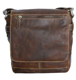 """Rugged Earth Rugged Earth Sac Messager  199004 Brown W 9""""*H 9 1/2""""*D 3 1/2"""""""