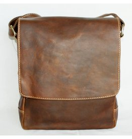 """Rugged Earth Rugged Earth Sac Messager 199006 Brown W 10""""*H 12""""*D 3 1/2"""""""