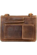 "Rugged Earth Rugged Earth Purse 199013 Brown W 9""*H 7""*D 2"""