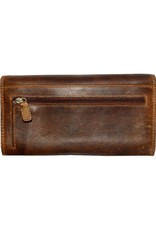 "Rugged Earth Rugged Earth 990001 Wallet Brown W7 1/2""*H4""*D1"""