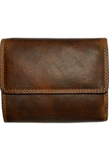 """Rugged Earth Rugged Earth 990002 Wallet  Brown W4 3/4""""*H4""""*1 1/2"""""""