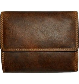 "Rugged Earth Rugged Earth 990002 Wallet Brown W4 3/4""*H4""*1 1/2"""
