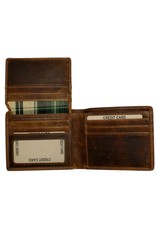 """Rugged Earth Rugged Earth 990009 Wallet Brown W4 1/2""""*H4""""*D3/4"""""""