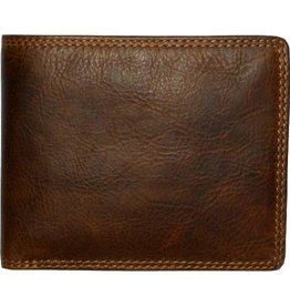 """Rugged Earth Rugged Earth  990010 Wallet  Brown W4 1/2""""*H3 1/2""""*D3/4"""""""