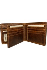 """Rugged Earth Rugged Earth 990011 Wallet Brown W 4 3/4""""*H3 3/4""""*D 3/4"""""""