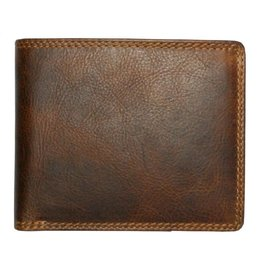 "Rugged Earth Rugged Earth 990012 Wallet Brown W 4 3/4""*H3 3/4""*D 1"""