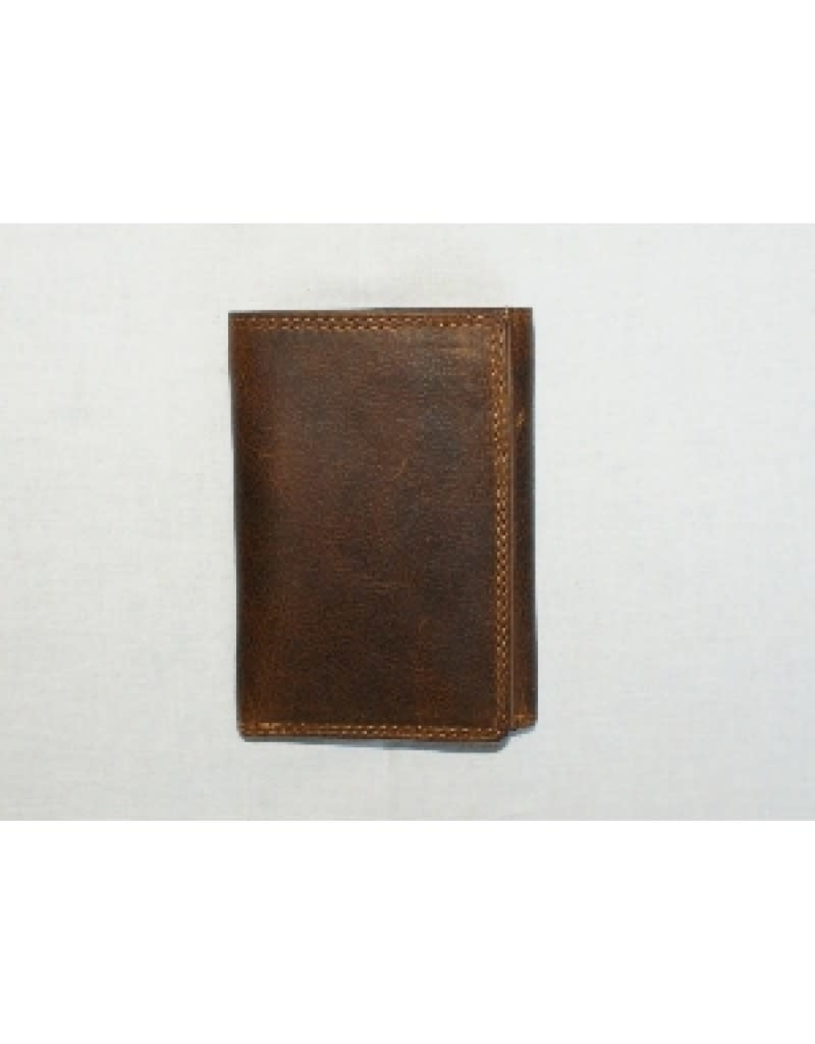 "Rugged Earth Rugged Earth 990006 Wallet Brown W3 1/2""*H4 3/4""*D1"""