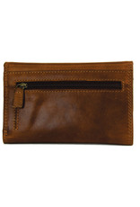 """Rugged Earth Rugged Earth 990016 Wallet Brown W 6""""*H 4""""*D 1"""""""