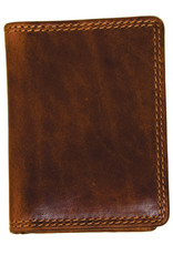 "Rugged Earth Rugged Earth 990017 Wallet Brown W2 7/8""*H4*D 3/8"""