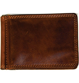 "Rugged Earth Rugged Earth 990018 Wallet  Brown W 4.5""H 3.25""*D 3/8"""
