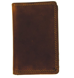 """Rugged Earth Rugged Earth Wallet 990019 Brown W 3""""*H4.25""""*D 3/8"""""""
