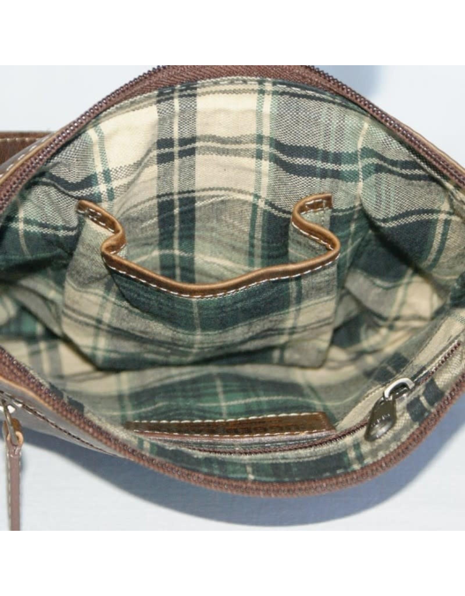 """Rugged Earth Rugged Earth Bag 199001 Brown W 8 1/2""""*H 8""""* 1 1/2"""""""