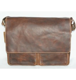 """Rugged Earth Rugged Earth Besace 199009 Brown W 15""""*H 12""""*D 3 1/2"""""""