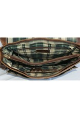 """Rugged Earth Rugged Earth Besace Messager 199009 Brown W 15""""*H 12""""*D 3 1/2"""""""