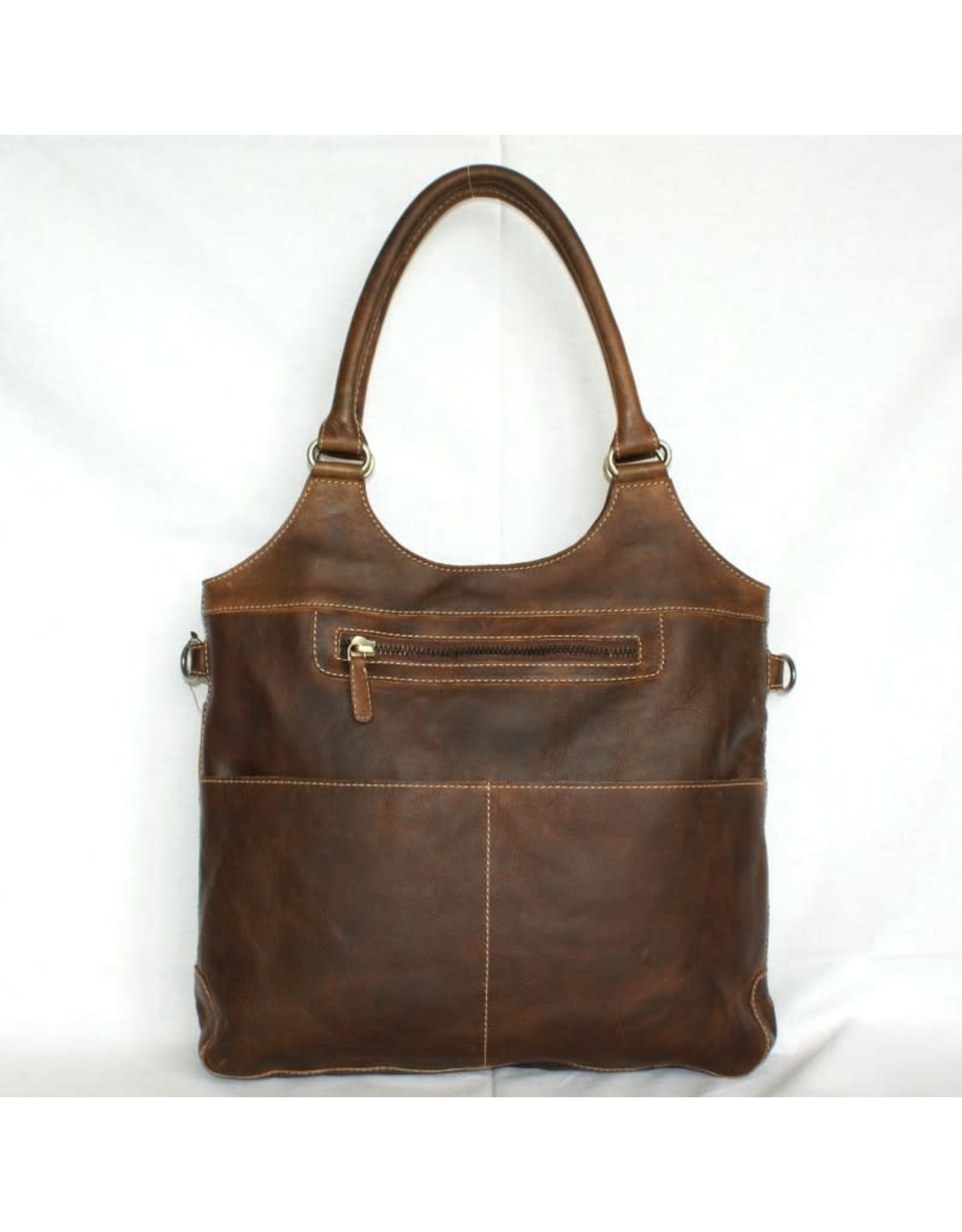 "Rugged Earth Rugged Earth Bag 199010 Brown W 15""*H 13""*D 3"""