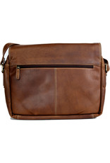 "Rugged Earth Rugged Earth Messenger Bag 199033 Brown W 14""*H 12""*D 4"""