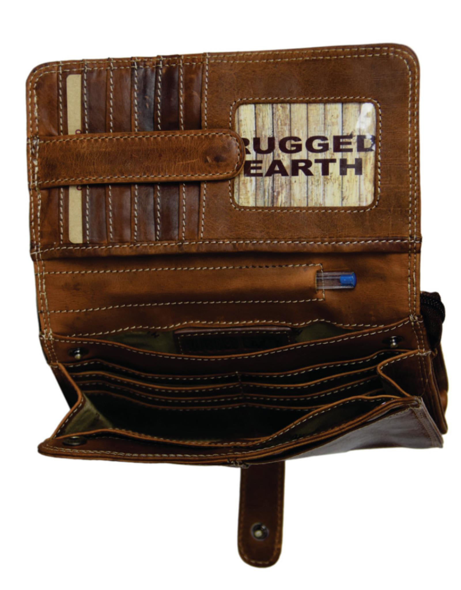 """Rugged Earth Rugged Earth Organiseur 199020 Brown W 8""""*H 55""""D 2"""""""