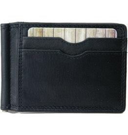 "Rugged Earth Rugged Earth Money Clip Wallet 880018 Black W 4.5""H 3.25""*D 3/8"""