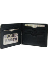 "Rugged Earth Rugged Earth Money Clip Wallet 880018 Black W 4.5""H 3.25""*D 3/8"""