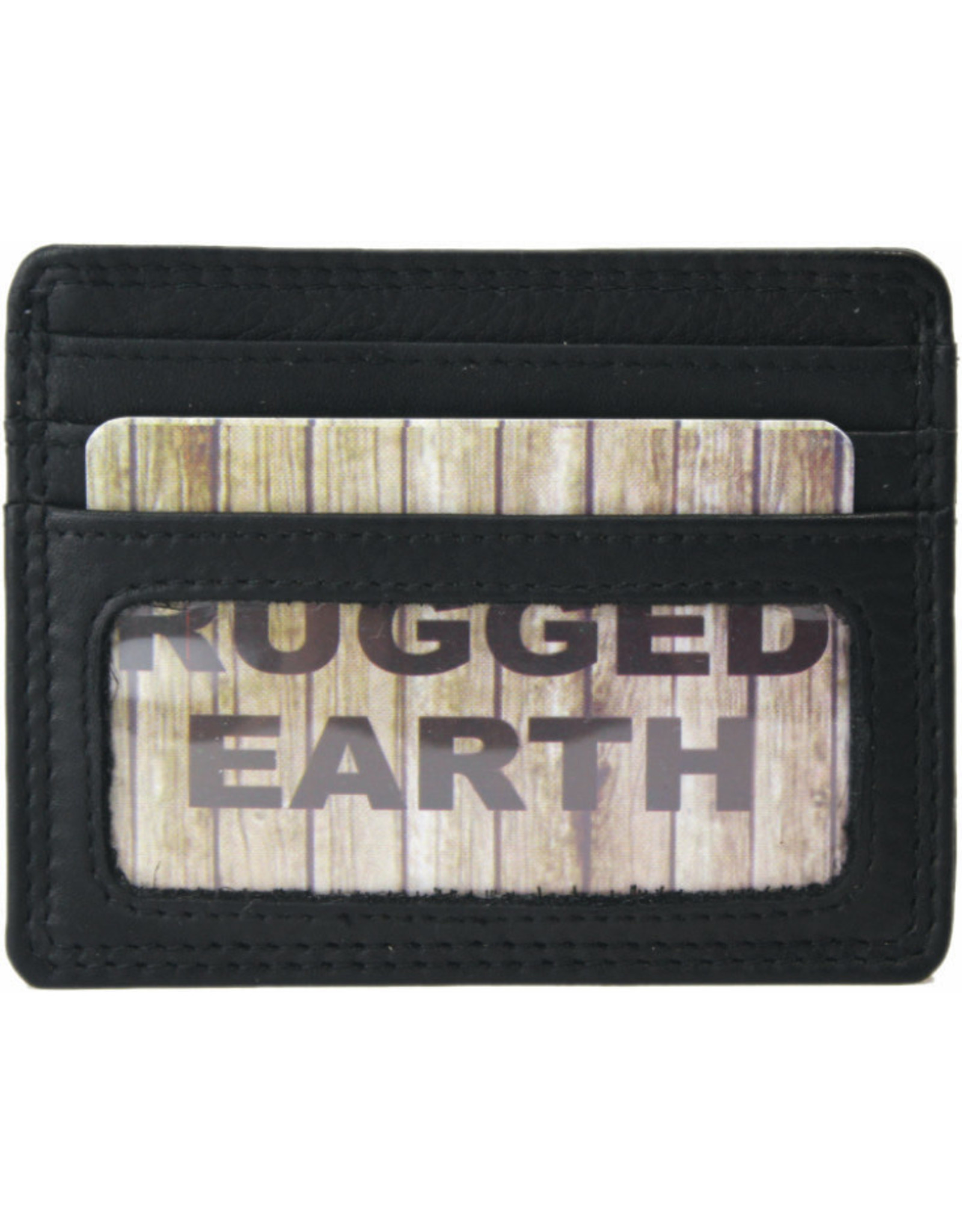 "Rugged Earth Rugged Earth Porte Carte 880021 Black W 7 3/4""*H 4 1/4""*D 1"""