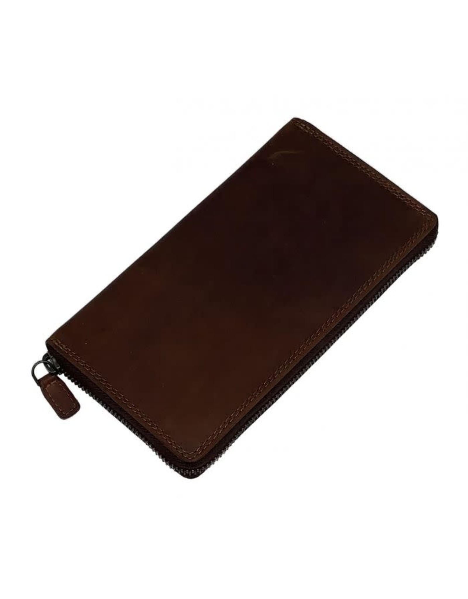 "Rugged Earth Rugged Earth Wallet 990020 Brown W 4""*H 3 1/4""*D 1/4"""