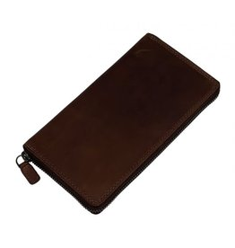 """Rugged Earth Rugged Earth Wallet 990020 Brown W 4""""*H 3 1/4""""*D 1/4"""""""