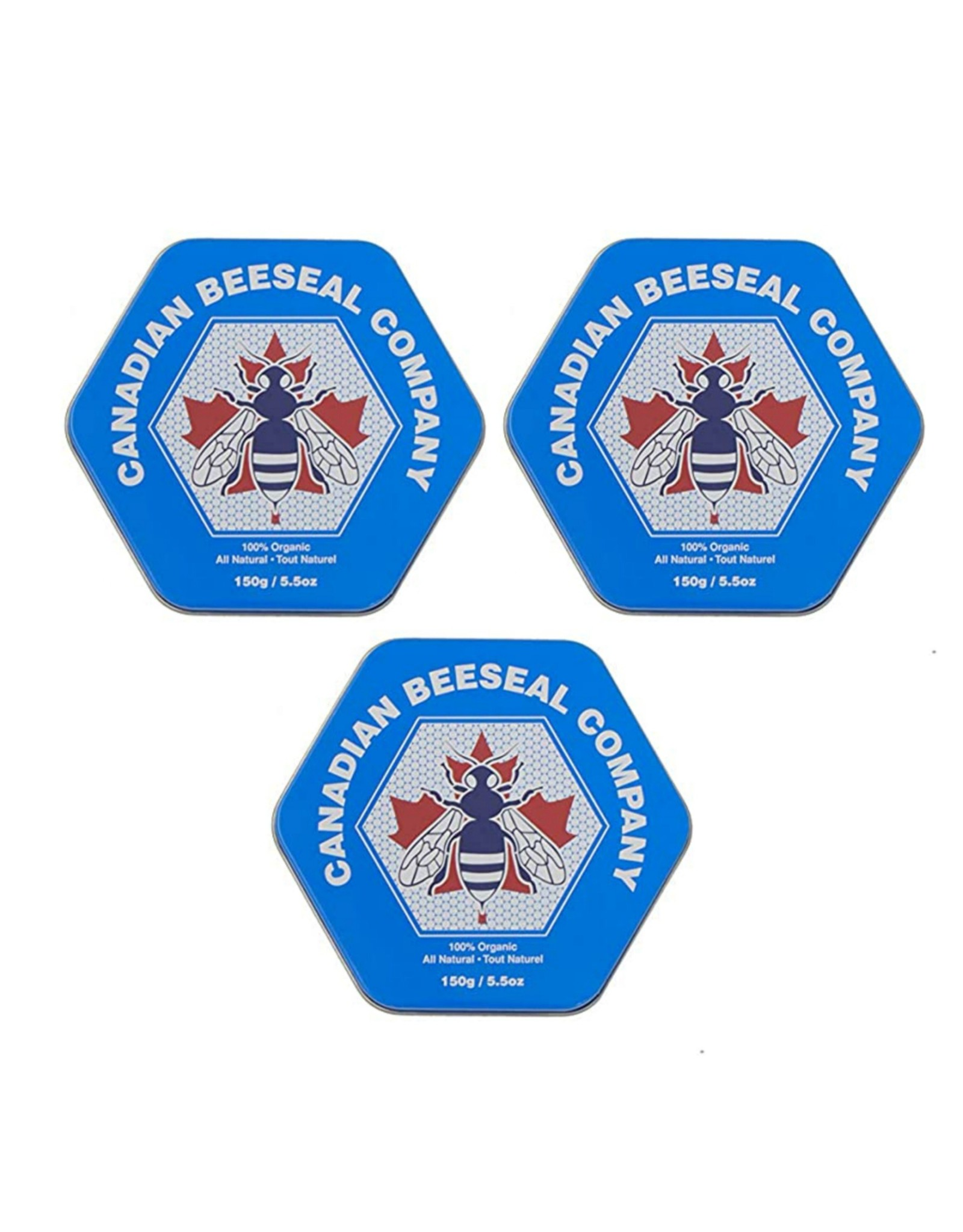 Canadian Beeseal Company 3 Pack Canadian Beeseal 150g/5.5oz