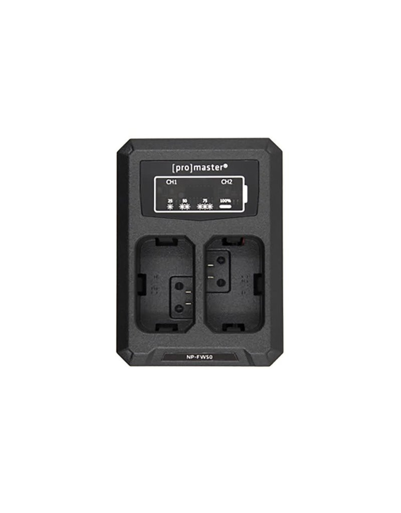 Promaster Promaster Dually Charger Sony NP-FW50