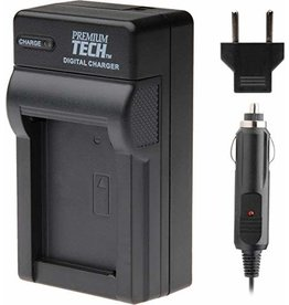 Premium Tech Professional PT-80 Travel charger for Sony NP-BX1