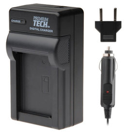 Premium Tech Professional Premium Tech Travel Charger for Sony FM50, 500H, F550, 750, 960