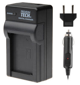 Premium Tech Professional Premium Tech Travel Charger Pt-19 for Sony Nikon Olyympus Pentax