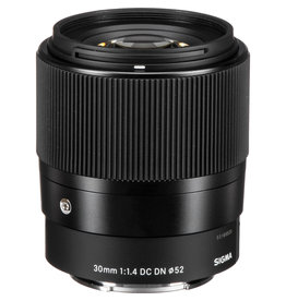 Sigma Sigma 30mm F/1.4 DC DN for Sony E