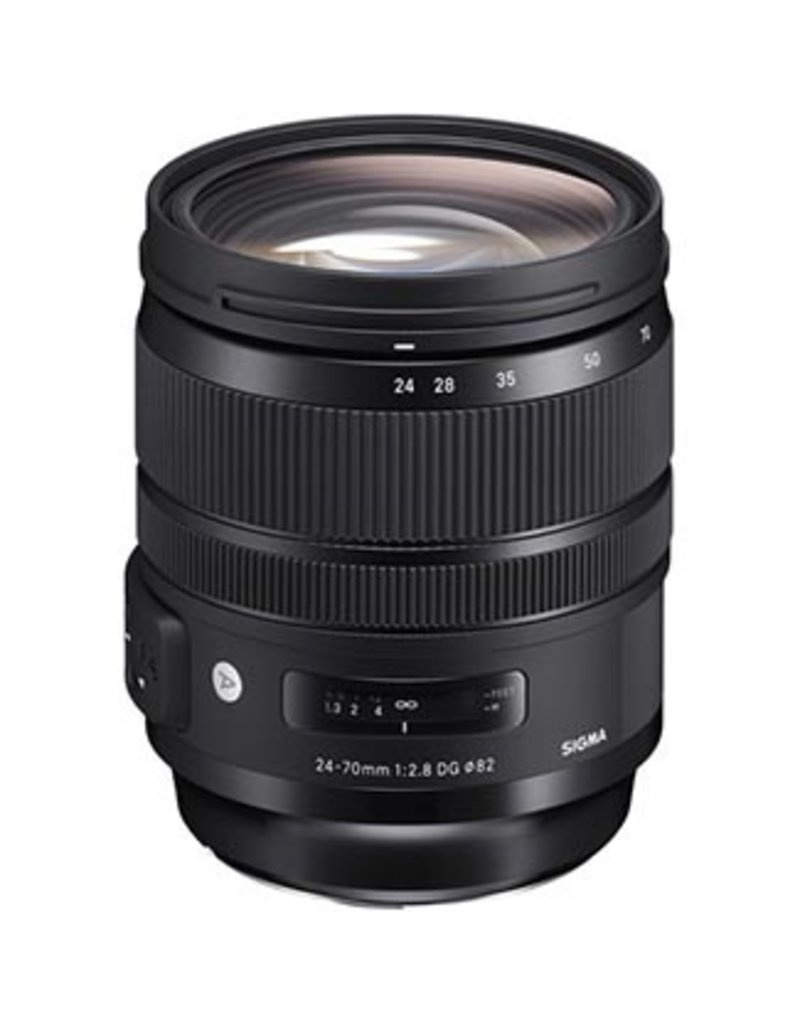 Sigma Sigma 24-70mm f/2.8 DG OS HSM Art Lens for Canon EF