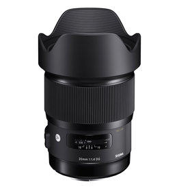 Sigma Sigma 20mm F/1.4 DG Art Series for Canon Mount