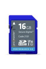 Pro Promaster SDHC 16GB Performance 2.0