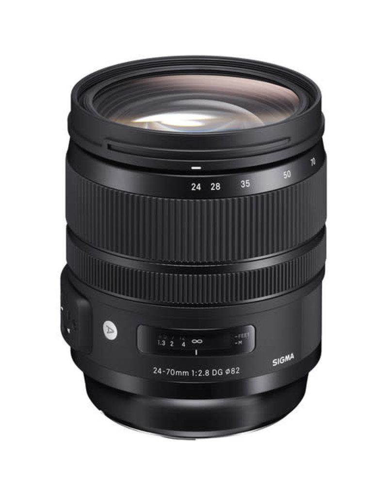Sigma Sigma 24-70mm f/2.8 DG OS HSM Art Lens for Nikon F