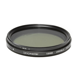 Promaster Promaster 58mm Variable ND Digital HGX