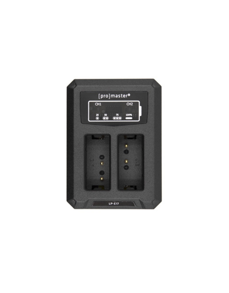 Promaster Dually Charger Canon LPE17