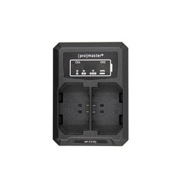 Promaster Promaster Dually Charger - Sony NPFZ-100
