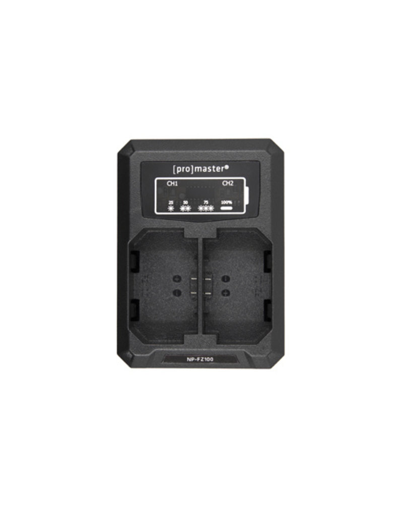 Promaster Promaster Dually Charger - Sony NP-FZ100