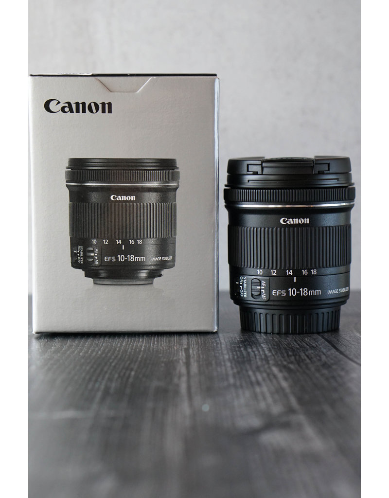 Canon Used Canon 10-18mm F/4.5-5.6 IS STM