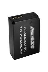 Power2000 Power 2000 Battery for Canon LP-E12