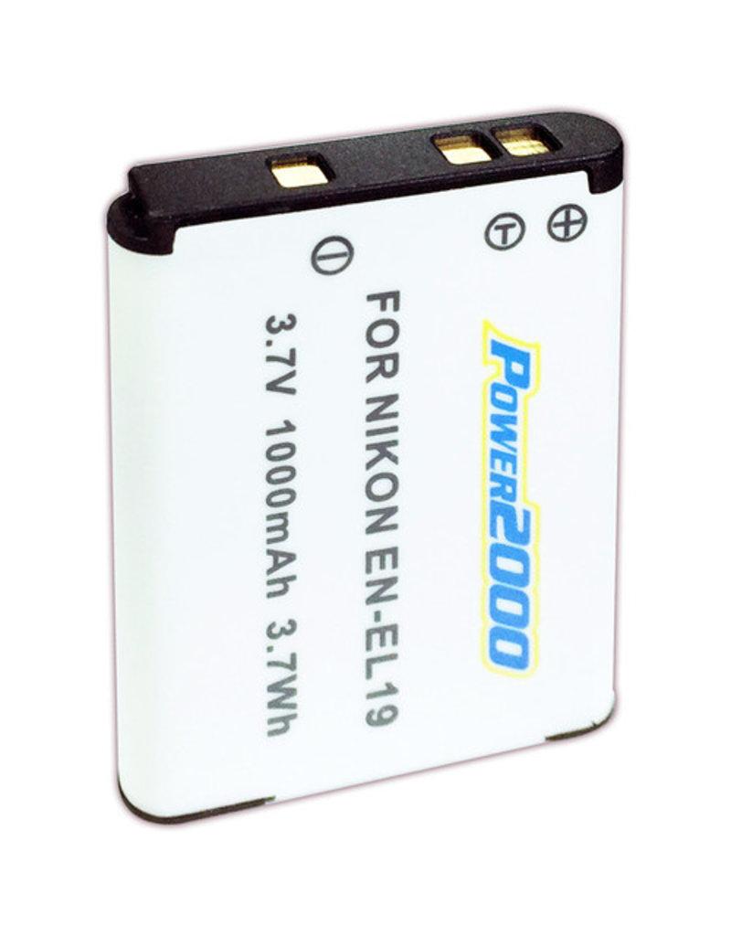 Power2000 Power2000 Battery For Nikon EN-EL19
