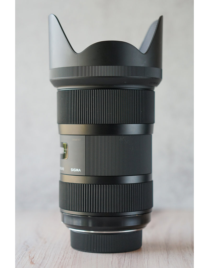 Nikon Used Sigma 18-35mm 1.8 Nikon Mount