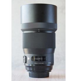 Canon Used Sigma 135mm 1.8 Canon Mount