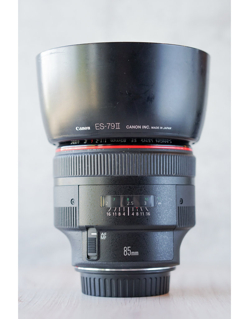 Canon Used Canon 85mm 1.2 L II USM