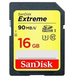 SanDisk SanDisk Extreme SDHC UHS-I Card 16gb