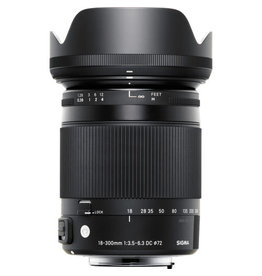 Sigma Sigma 18-300mm f/3.5-6.3 DC Macro OS HSM Contemporary Lens Canon Mount