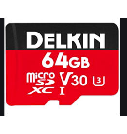 Delkin Devices Delkin Devices Rugged Micro SD Card 64gb
