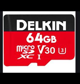 Delkin Devices Delkin Devices Rugged Micro SD Card 64gb